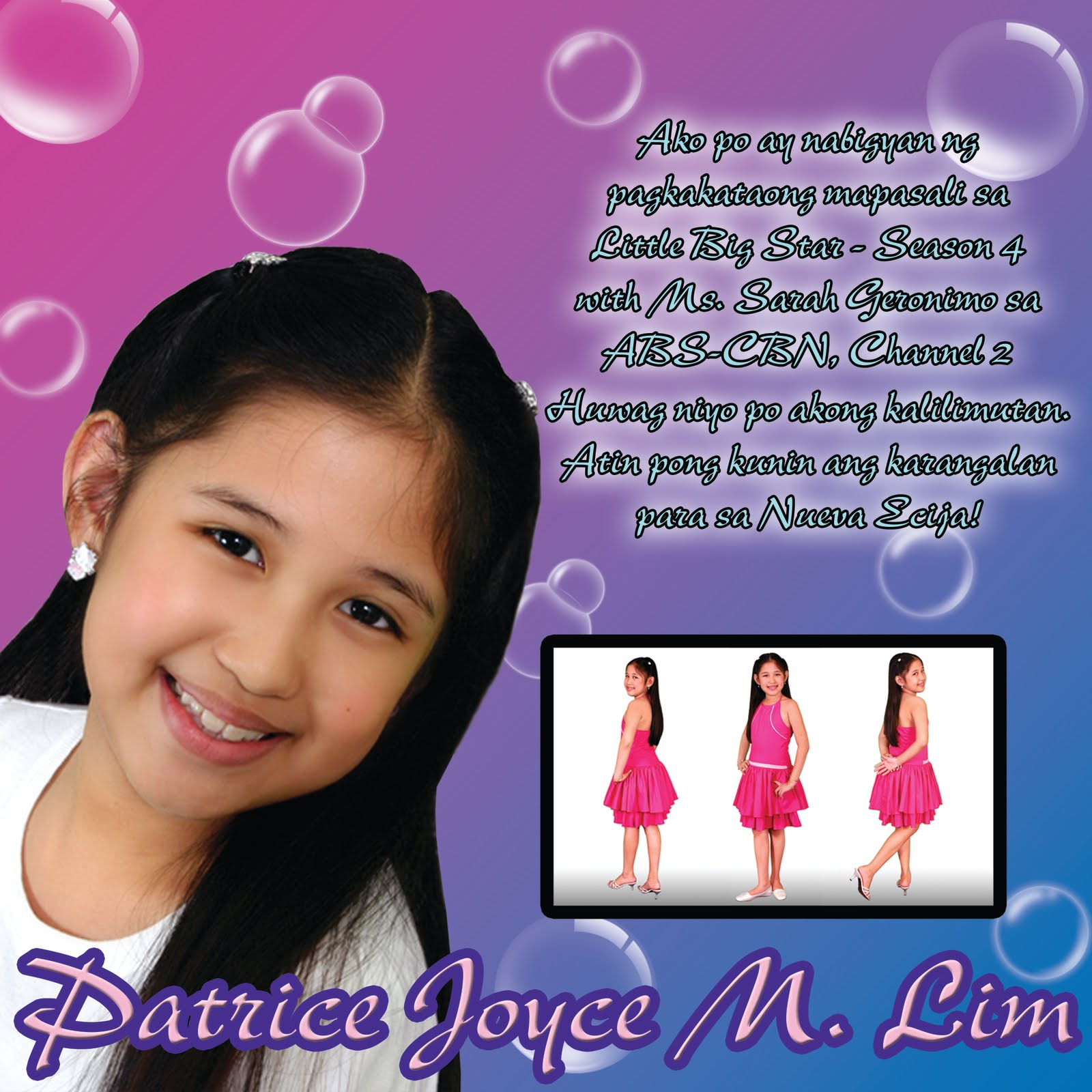 Little Big Star Poster – Patrice Joyce M. Lim