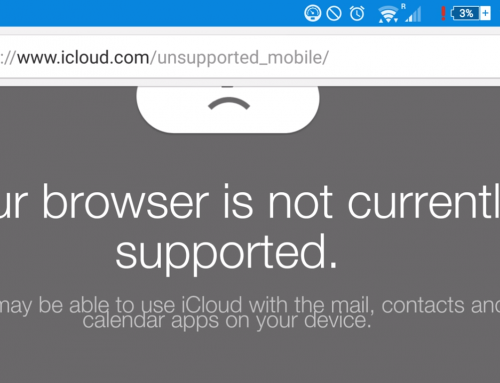 Quick Fix: iCloud website not loading, browser not supported
