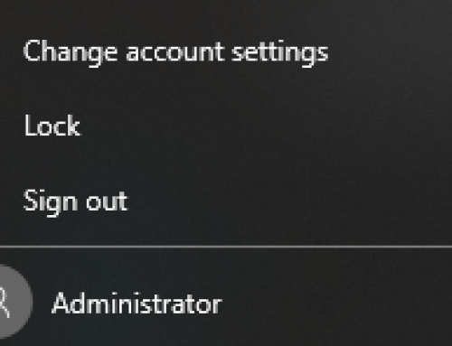 Turn Administrator Account On/Off on Windows 10